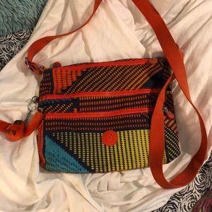 4 pockets Kipling bag